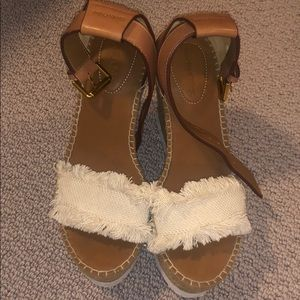 Barely Worn See By Chloé Wedges